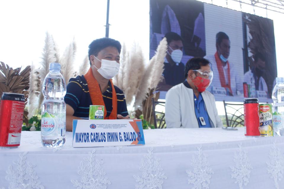 Inauguration of Camalig Bypass Road